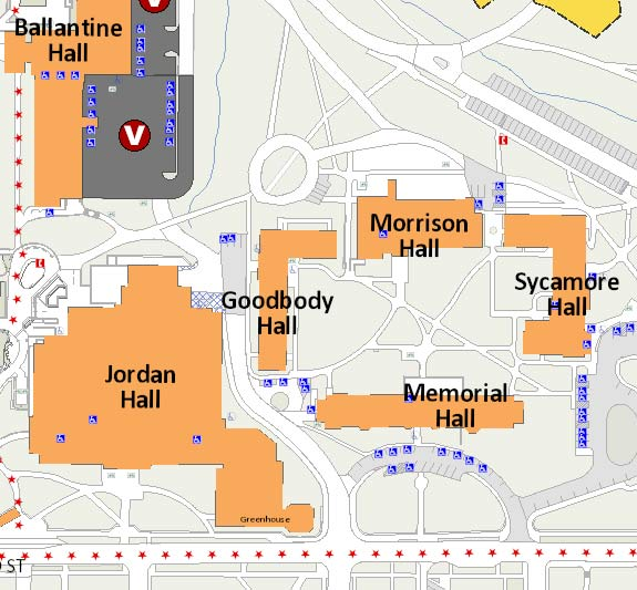 Map of IU Campus